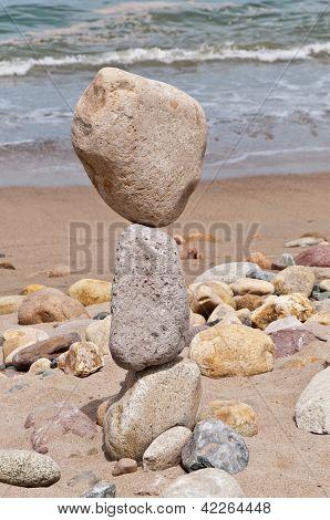 Large Balancing Rocks