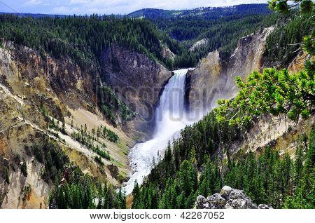 Lower Yellowstone Waterfalls