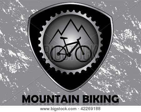 Badge biking