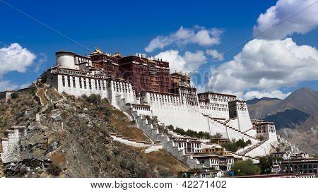 Tibet landmark - Potala Palace
