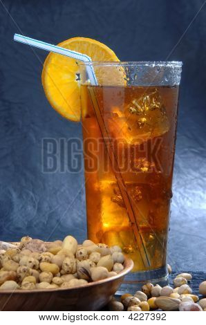 Cocktail With Dry Fruits