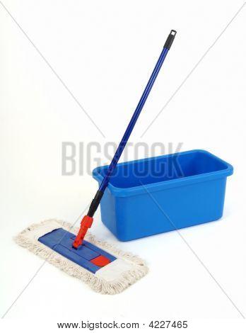 Bucket And Broom