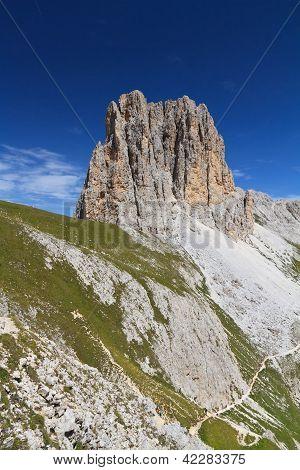 Sforcella Peak - Catinaccio Group