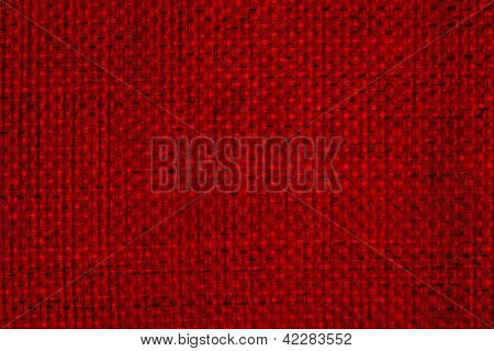 Textile And Texture In Red Shades