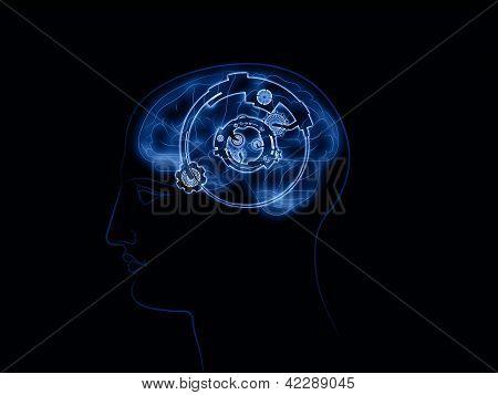 Visualization Of Internal Clockwork