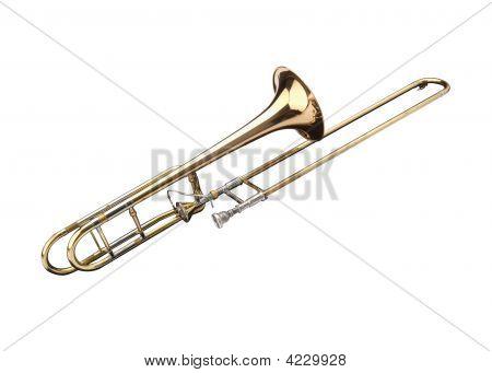 Bronze Slide Trombone