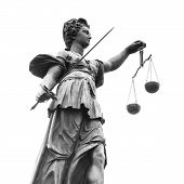 picture of jury  - Statue of Lady Justice  - JPG