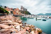 View Of Porto Venere. Porto Venere Is A Town And Comune Located On The Ligurian Coast Of Italy In Th