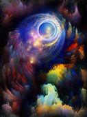 Постер, плакат: Свечение фрактальной мечты
