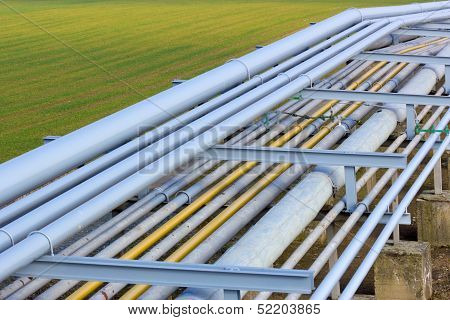 Pipeline On Green Field