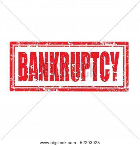 Bankruptcy-stamp