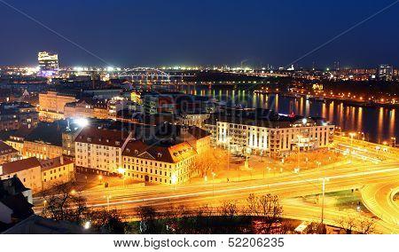 Bratislava Cityspace - Panorama From Castle