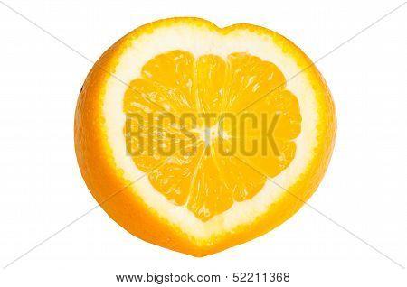 Orange Heart Shaped