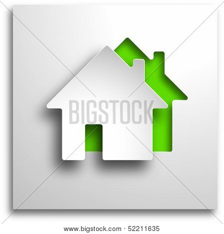 real estate 3d background
