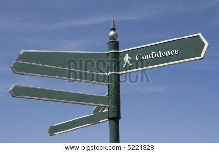 Sign Of Confidence