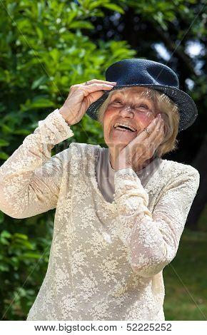 Vivacious Elderly Lady