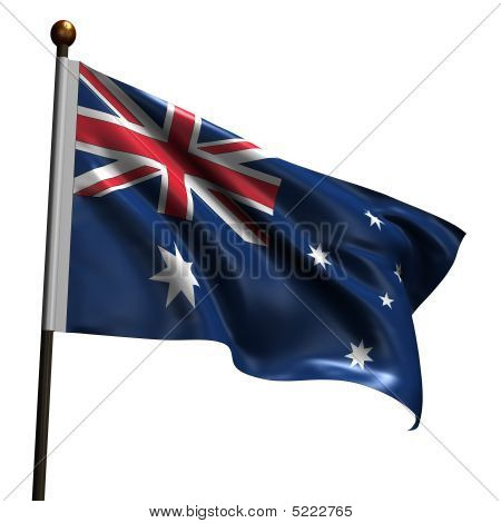 High Resolution Australian Flag