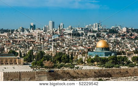 The Temple Mount, Jerusalem, Israel