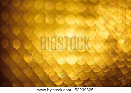 Photo Of Yellow Bokeh Lights