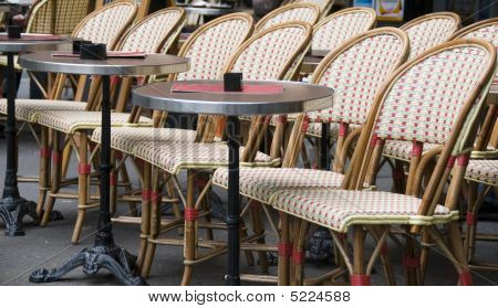 Outdoor Cafe Paris France