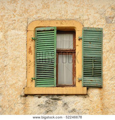 Half open window