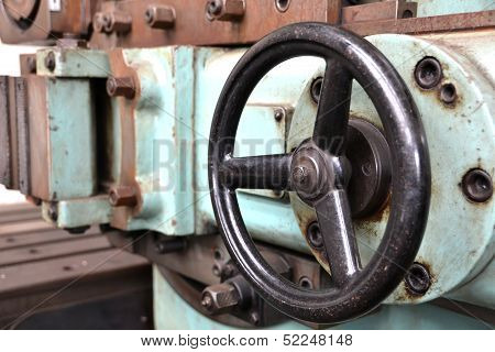 Detail of a machine