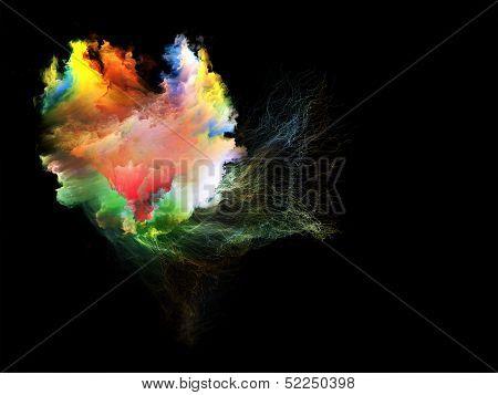 Visualization Of Fractal Jellyfish