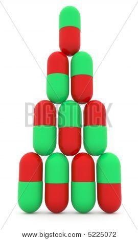 Pyramid Of Pills