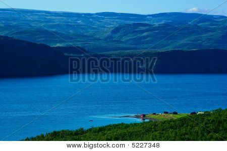 House On The Coast Of The Fiord