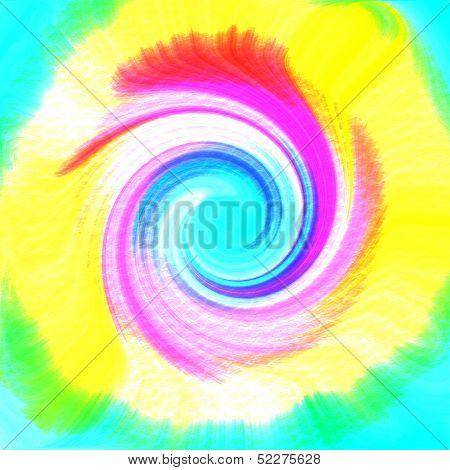 Tie-dye Swirl