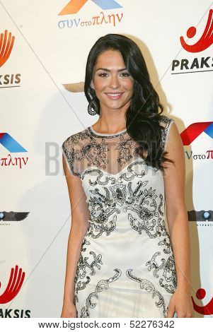 HOLLYWOOD - Antoinette Kalaj arrives at the 2013 Philhellenes Gala benefiting Praksis at the SkyBar on October 9, 2013 at the Mondrian Los Angeles, West Hollywood, CA.