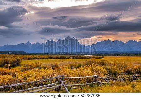 Grand Tetons Lanscape