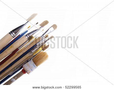 Brushes Isolated