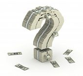 stock photo of million-dollar  - Question mark - JPG