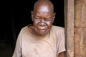 Elderly African Woman Portrait
