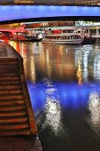 Vienna At Night, Danube Canal