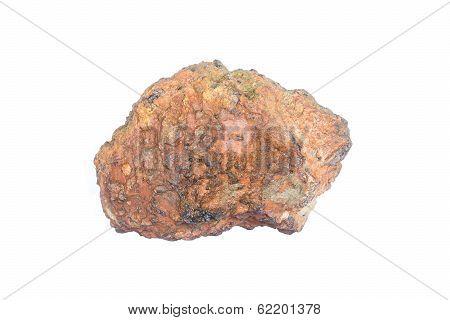 Stone On Plain Background