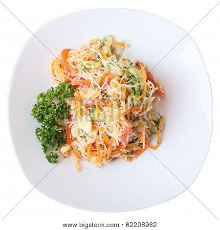 Funchoza Salad
