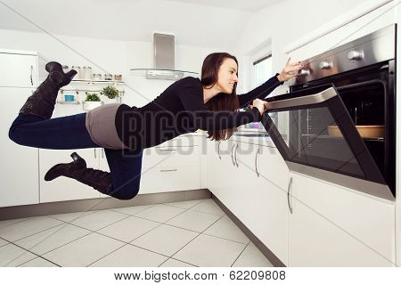 Levitation In The Kitchen