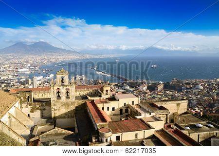 Gulf Of Naples And Mount Vesuvius