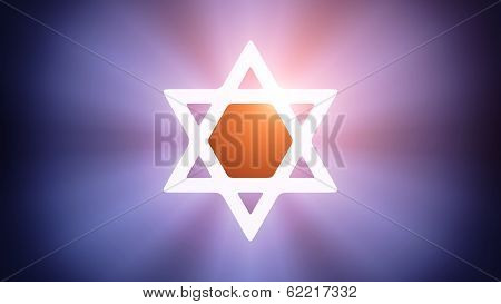 Illuminated Magen David