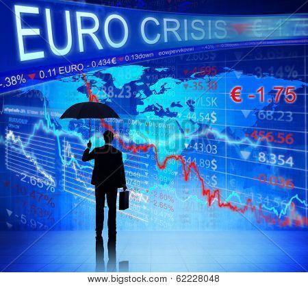 Businessman on Euro Crisis