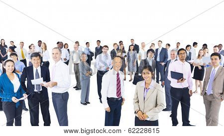 Multi-Ethnic Group of Business People