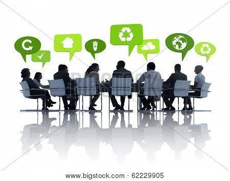 Environmental Business Communications at Meeting Tb
