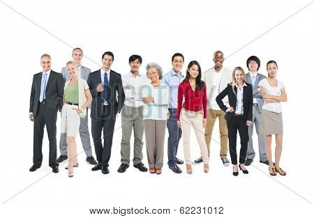 Group of Multi-ethnic and Diverse World People