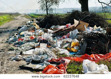 Garbage Dump On The Road
