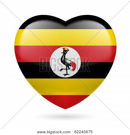 Heart icon of Uganda