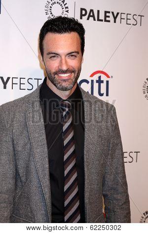 LOS ANGELES - MAR 27:  Reid Scott at the PaleyFEST 2014 -