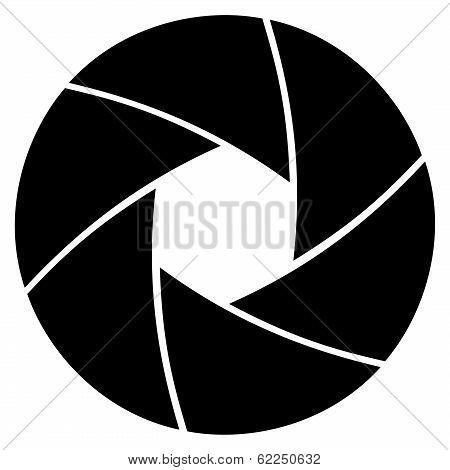 Illustration Of Camera Lens Aperture Ring