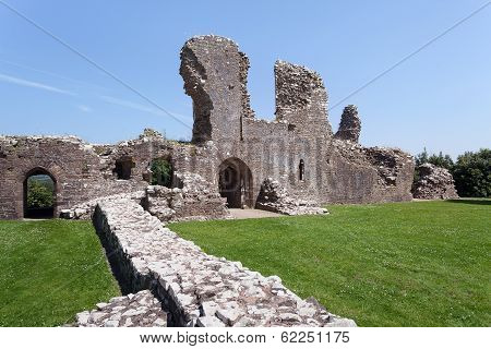 Llawhaden Castle Ruins, West Wales